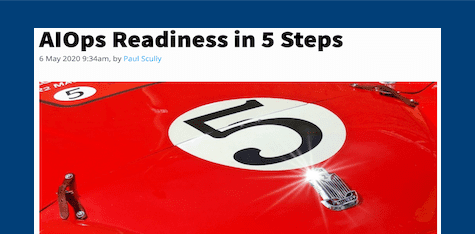 AIOps Readiness in 5 Steps